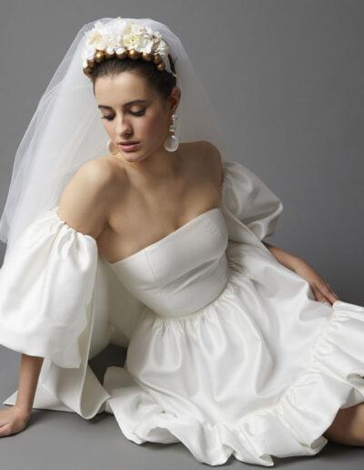 Tocados para novias Anita Ribbon