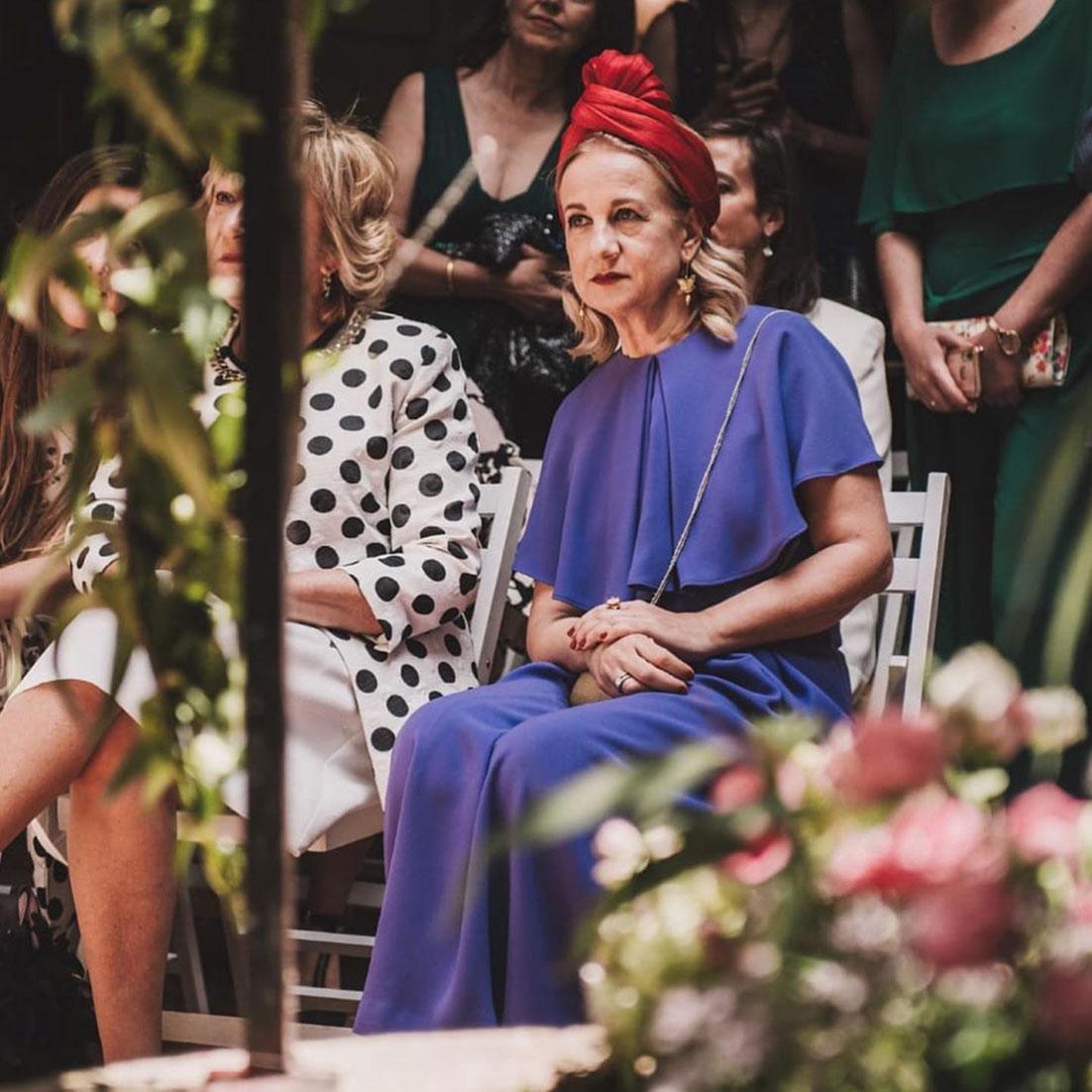 Tocados para invitadas Anita Ribbon